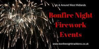 west midlands bonfire night round up
