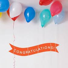 Congratulations Banner Wall Decal Shop Decals From Dana Decals