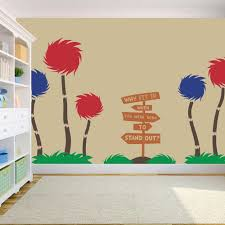 Truffula Trees Dr Seuss Vinyl Wall Decal Decor Solid Large By Stolzdesignonetsy On Etsy Https Www Etsy Com Listing 2415 Vinyl Wall Decals Wall Decals
