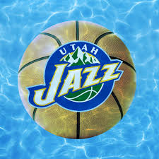 Utah Jazz Logo Giant Officially Licensed Pool Graphic Utah Jazz