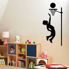 Shop Sport Boy Vinyl Decal Art Mural Sticker Interior Design Children Kids Nursery Room Decor Sticker Decal Size 44x70 Color Black Overstock 14555146