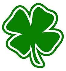 Four Leaf Clover Vinyl Decal Sticker Car Window Wall Bumper Lucky Symbol Irish 4 Ebay