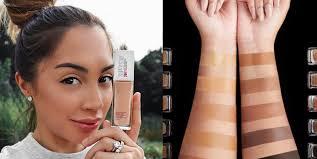 natural makeup for bination skin