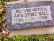 Avis Stone Nall 1913 - 1959 BillionGraves Record