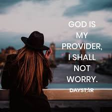 quotes about life god is my provider christian inspiration