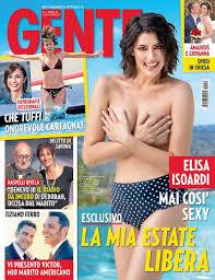 Elisa Isoardi, topless e slip nella copertina di Gente