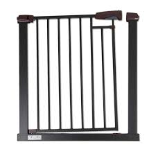 Baby Safe Metal Gate Black Charcoal Safety Gates Barriers Baby Factory