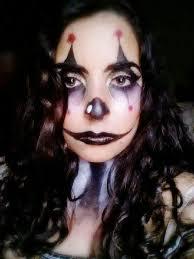 creepy clown makeup cosplay amino