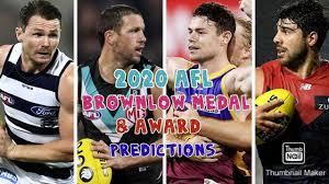 2020 AFL Brownlow Medal & Award ...