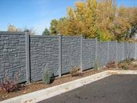 Simulated Faux Stone Walls Stylish And Strong Fencing