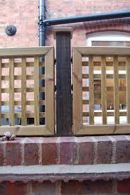 Lattice Trellis Fixed On Brick Wall