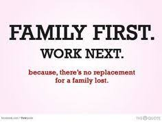 family first before work friends there shouldn t even be any