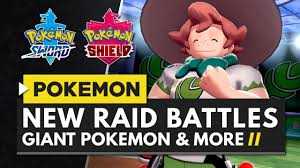 POKEMON SWORD & SHIELD | Raid Battles, 4 Player Co-op, Giant ...
