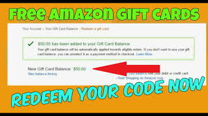 how to get free amazon gift cards codes