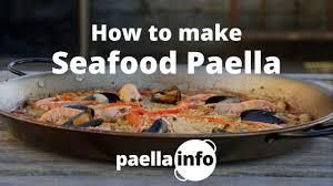 Seafood Paella Recipe for 2 (VIDEO ...