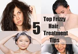 how to reduce frizzy hair home remes