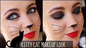 kitty cat makeup tutorial for halloween