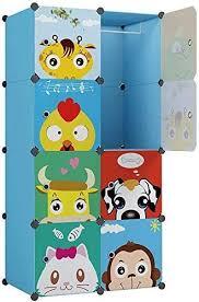 Amazon Com Kousi Kid Clothes Storage Organizer Baby Dresser Kid Closet Baby Clothes Storage Cabinet For Kids Room Baby Wardrobe Toddler Closet Childrens Dresser Blue 28 W X 14 D X 56 H Home Kitchen