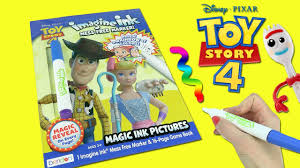 toy story 4 imagine ink coloring book