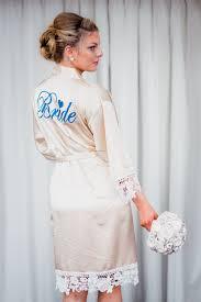 brides designer wedding robes
