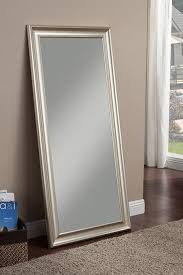 full length leaner mirror with a