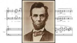 Betinis: Abraham Lincoln Walks at Midnight | MUSC520 Musical ...