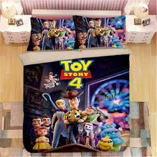 Best Promo 504f6 Disney Toy Story Sherif Woody Buzz Lightyear Bedding Set Quilt Duvet Covers Pillowcase Kids Bedroom Decora Boys Bed Single Queen Cicig Co