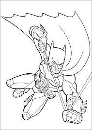 Batman Kleurplaten 1