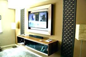 flat screen tv picture frame flat