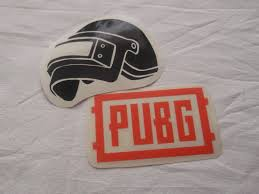 Playerunknown S Battlegrounds Themed Vinyl Stickers Decals Pubg Logo Helmet Full Pubg Text Others Cheap Labels Printing Labels Prints