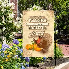 flag turkey garden banner premium