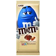 minis milk chocolate candy bar almond