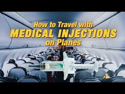 bring cal injections on planes