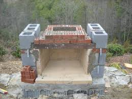 building an outdoor fireplace