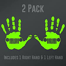 2 Decals 5 5 In Jeep Wave Decal Vehicle Window Decal