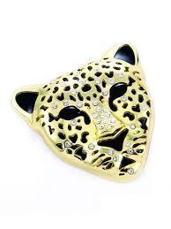 Buy Car Sticker Metal 3d Leopard Shape Rhinestone Decoration Personality Car Sticker Car Sticks Decals At Jolly Ch