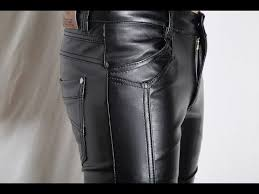 skinny leather pants for men you