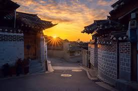 hd wallpaper dawn morning seoul old