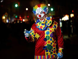 psychology of clowns being scary