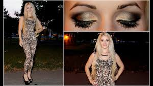 makeup for leopard print outfit