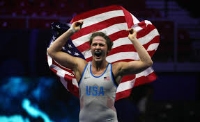 Denver's Adeline Gray becomes first American wrestler to win five world  titles – The Denver Post