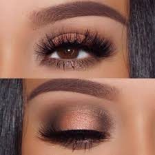 how to apply eye makeup for brown eyes