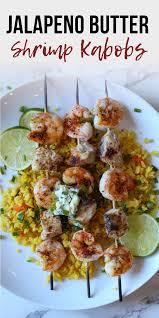 Shrimp and Mahi Mahi Kabobs with ...