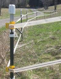 Electric Fence Corner Post Corner Electric Fence Post In 2020 Electric Fence Farm Fence Outdoor Gardens