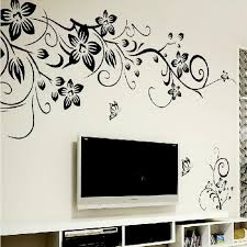Diy Wall Art Decal Decoration Fashion Romantic Flower Wall Sticker Home Decor 3d Wallpaper Design Wall Decals Design Wall Stickers From Homeju 5 43 Dhgate Com