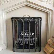 gothic style fire screen metal mesh