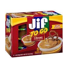 peanut er jif to go creamy peanut