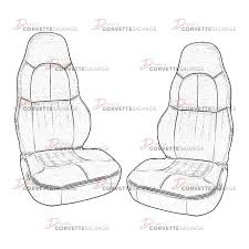 leather standard seat cover set
