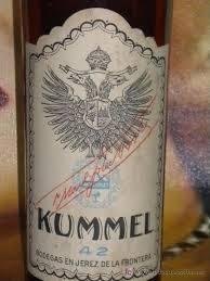Botella licor kummel 42 grados precinto 1,60 pe - Vendido en Venta ...