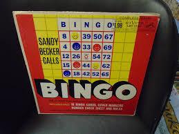 Sandy Becker Calls Bingo LP RCA Victor with cards | eBay